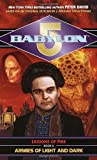 Babylon 5 book cover: Armies of Light and Dark