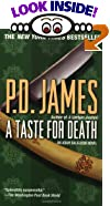 A Taste for Death (Adam Dalgliesh Series) by P.D. James