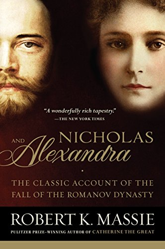 Nicholas and Alexandra Book Cover Picture