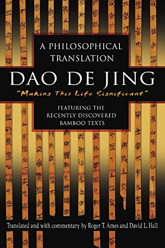 Dao De Jing Book Cover Picture