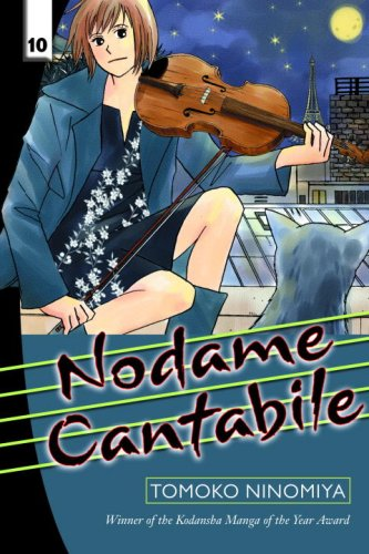 Nodame Cantabile Book 10 cover