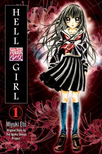 Hell Girl Book 1 cover