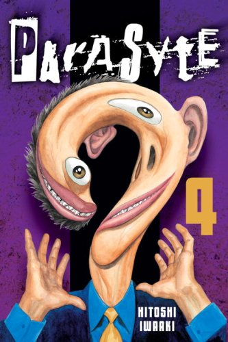 Parasyte Book 4 cover