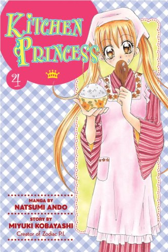 Kitchen Princess Book 4 cover