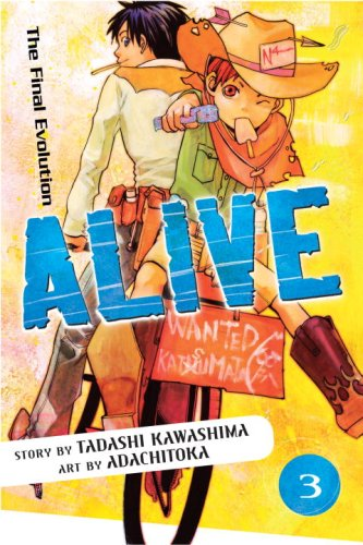 Alive: The Final Evolution Book 3 cover