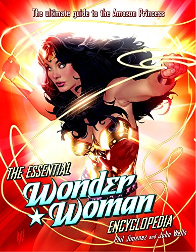 The Essential Wonder Woman Encyclopedia cover