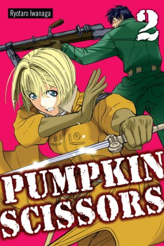 Pumpkin Scissors Book 2 cover