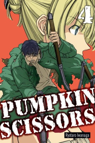 Pumpkin Scissors Book 4 cover