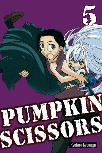 Pumpkin Scissors Book 5 cover