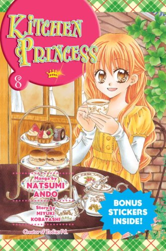 Kitchen Princess Book 8 cover