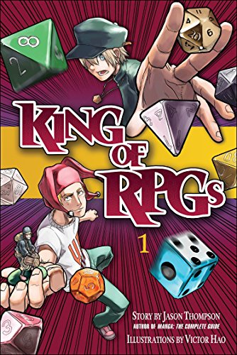 King of RPGs Book 1 cover