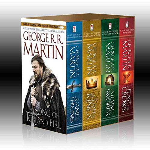 A Song of Ice and Fire, Books 1-4 (A Game of Thrones / A Feast for Crows / A Storm of Swords / Clash of Kings)