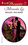 Bought: One Bride (Harlequin Presents)
