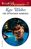The Antonakos Marriage (Harlequin Presents) :Amazon