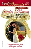 The Sicilian's Christmas Bride (Larger Print Presents)