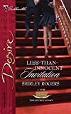 Less-than-innocent Invitation (Silhouette Desire):Amazon