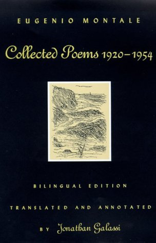 Collected Poems, 1920-1954: Bilingual Edition, Montale, Eugenio