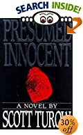 Presumed Innocent by  Scott Turow (Hardcover - August 1987)