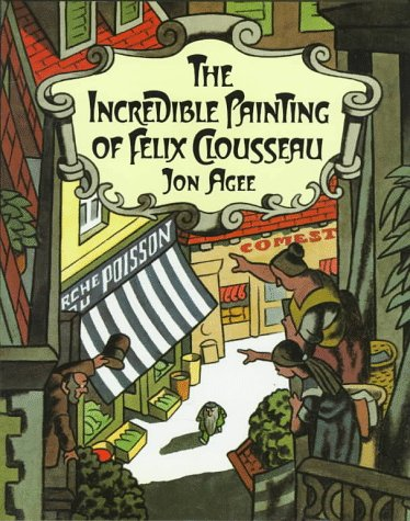 Incredible Painting of Felix Clousseau, Agee, Jon