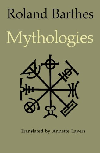 Mythologies, by Barthes, R.