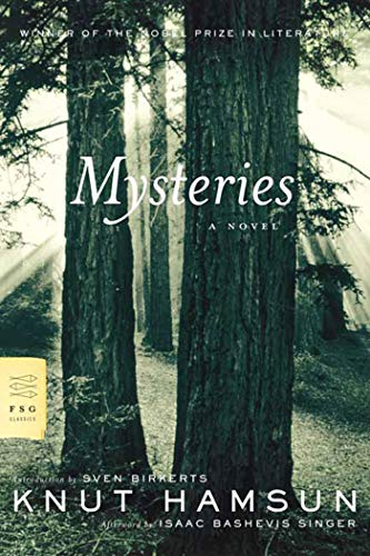 Mysteries, by Hamsun, Knut