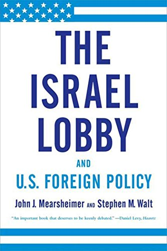 The Israel Lobby and U.S. Foreign Policy Book Cover Picture
