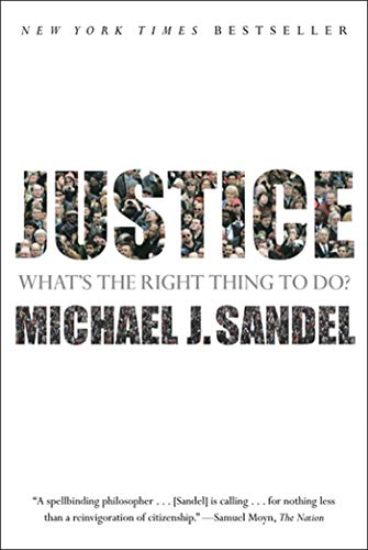Justice: What's the Right Thing to Do? Book Cover Picture