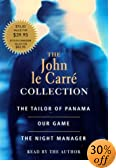 The John Le Carre Collection: The Tailor of Panama/Our Game/the Night Manager (The John Le... by  John Le Carre (Reader) (Audio Cassette - May 2000)