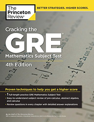 Cracking the GRE with 4 Practice Tests, 2017 Edition by Princeton Review