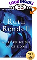 Murder Being Once Done (Vintage Crime/Black Lizard) by  Ruth Rendell