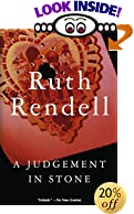 A Judgement in Stone by  Ruth Rendell (Paperback - January 2000)