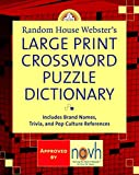 Random House Webster`s Large Print Crossword Puzzle Dictionary