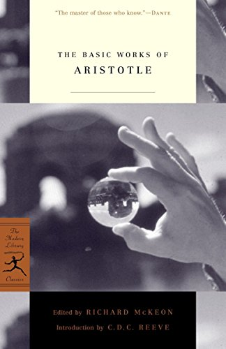 The Basic Works of Aristotle Book Cover Picture