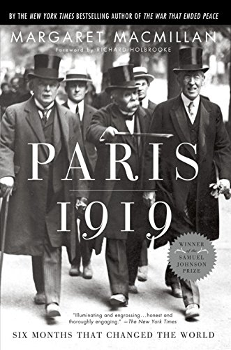 Paris 1919: Six Months That Changed the World Book Cover Picture