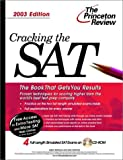 Cracking the Sat 2003 (Cracking the Sat With Practice Tests on Cd-Rom)