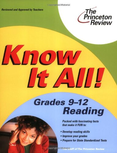 Know It All! Grades 9-12 Reading (K-12 Study Aids)