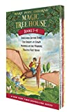 Book Cover: Magic Tree House: Dinosaurs Before Dark, The Knight at Dawn, Mummies in the Morning, and Pirates Past Noon (Box Set, Books 1-4) by Mary Pope Osborne