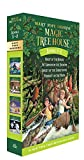 Book Cover: Magic Tree House: Night of the Ninjas, Afternoon on the Amazon, Sunset of the Sabertooth, and Midnight on the Moon (Box Set, Books 5-8) by Mary Pope Osborne
