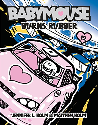 Babymouse Burns Rubber cover