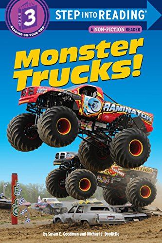 Monster Trucks! (Step into Reading) - Susan E. GoodmanMichael Doolittle