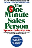 Buy The One Minute Sales Person from Amazon