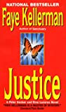 Justice (Peter Decker & Rina Lazarus Novels (Paperback)) - book cover picture