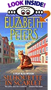 Silhouette In Scarlet: A Vicky Bliss Mystery by  Elizabeth Peters (Author) (Mass Market Paperback - November 2000)