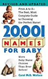 20,001 Names For Baby : Revised and Updated