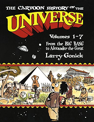 Cartoon History of the Universe Volumes 1-7 Book Cover Picture