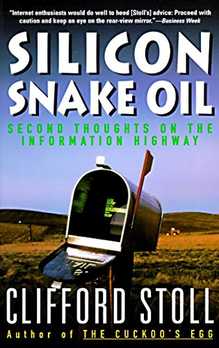 Clifford Stoll - Silicon Snake Oil