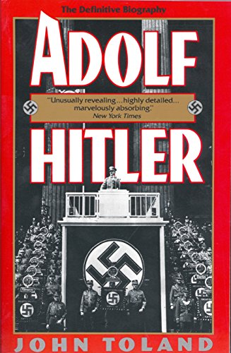 Adolf Hitler: The Definitive Biography Book Cover Picture