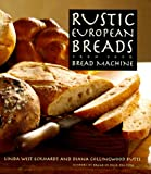 Rustic European Breads from Your Bread Machine - book cover picture