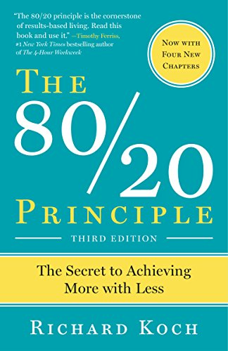 The 80/20 Principle, by Koch, R.