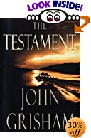 The Testament by  John Grisham (Hardcover)